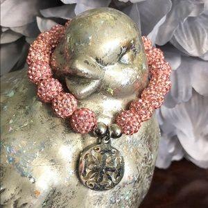 Rustic Cuff Pink Emerson Bracelet